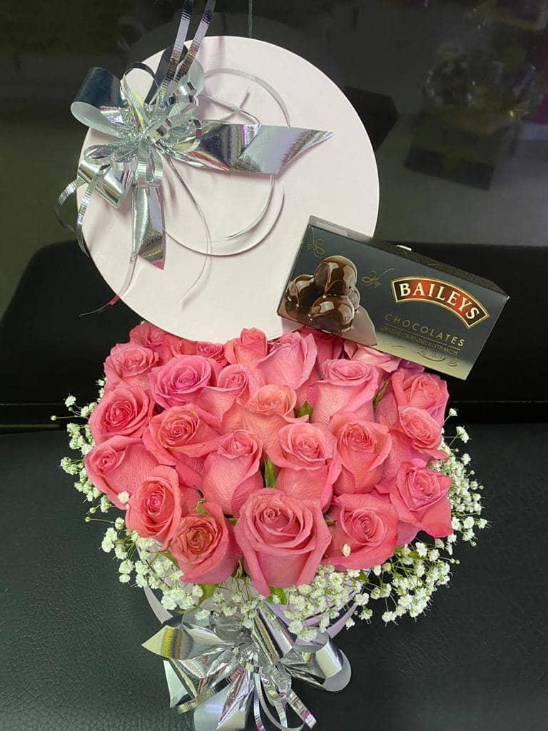 flores en caja bello